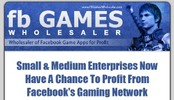 Facebook Game Wholesaler MRR