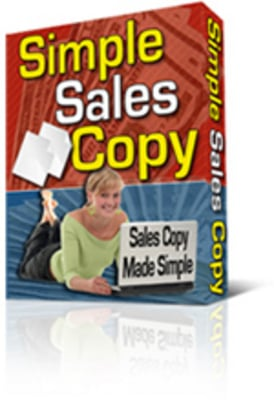 Product picture Simple Sales Copy Creator Software PLR