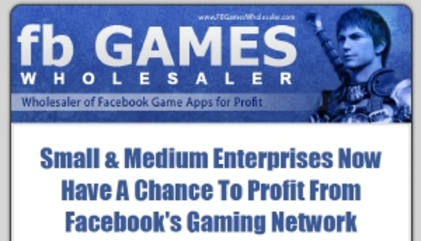 Product picture Facebook Game Wholesaler MRR