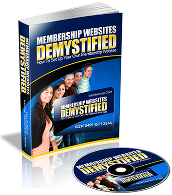 Product picture Membership Websites Demystified eBook & Audio PLR