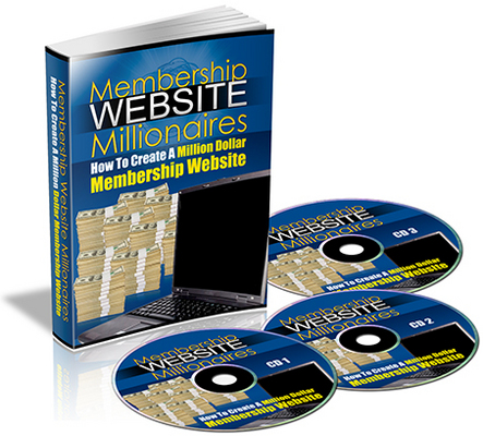 Product picture Membership Website Millionaires eBook & Audio PLR
