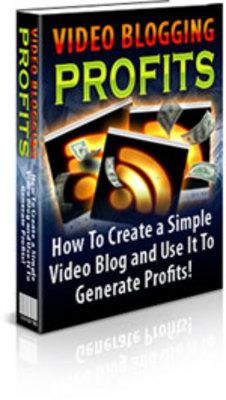 Product picture Video Blogging for Profits PLR