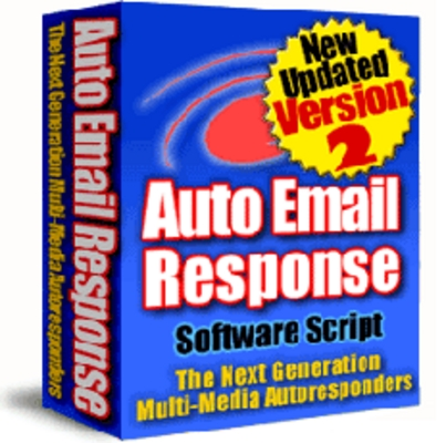 Product picture Auto Email Response Script PLR