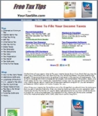 Product picture Taxes Site PHP PLR