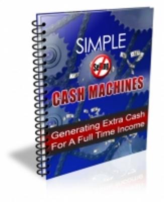 Product picture Simple Cash Machines MRR