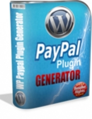 Product picture WP Paypal Plugin Generator MRR